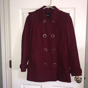 ASOS buttoned pea coat